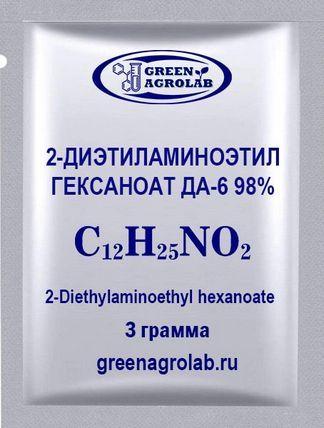 2-Диэтиламиноэтил гексаноат ДА-6 (C12H25NO2) - 3 грамма