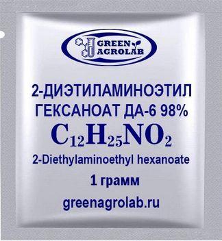 2-Диэтиламиноэтил гексаноат ДА-6 (C12H25NO2) - 1 грамм