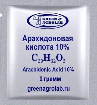 Арахидоновая кислота (C20H32O2) - 1 грамм